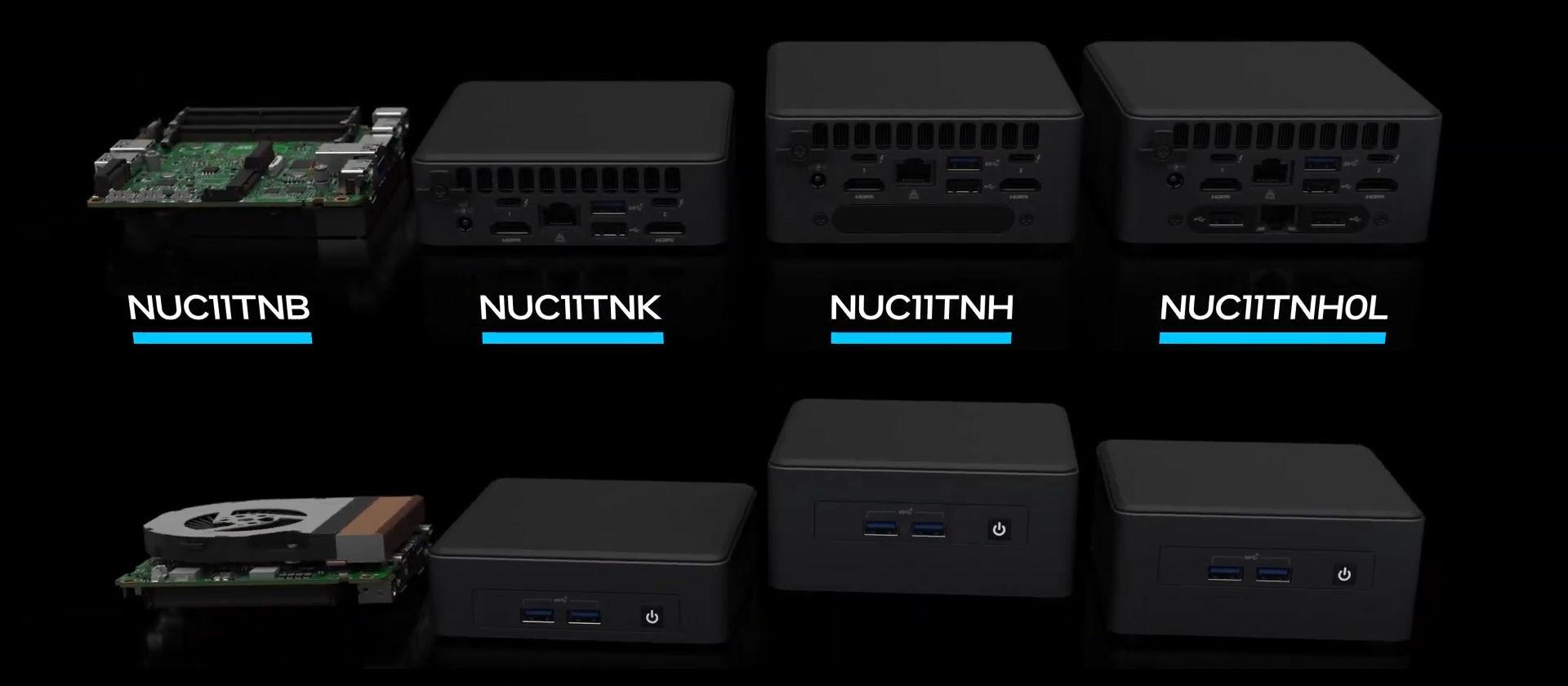 کامپیوترهای کوچک اینتل سری پرو تایگر کنیون