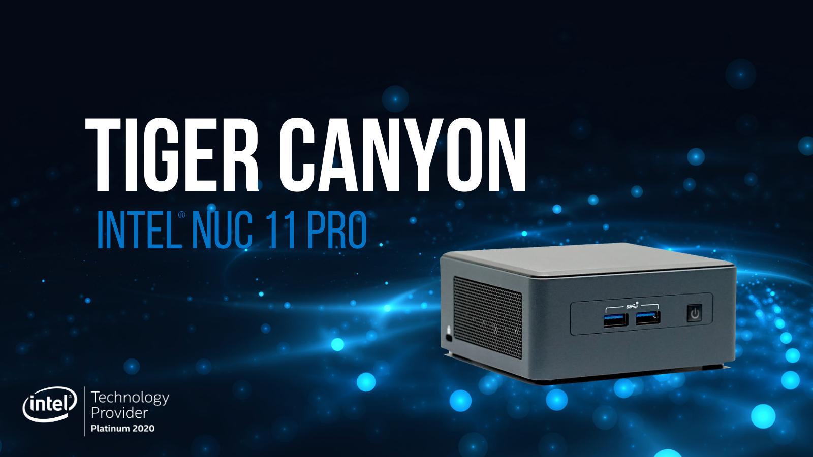 کامپیوترهای کوچک اینتل سری tiger canyon